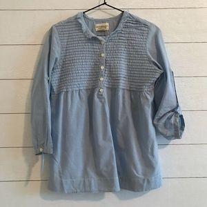 Denim & Supply Ralph Lauren Gingham Pullover Top